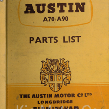 Austin+A70-90+Books+and+Manuals