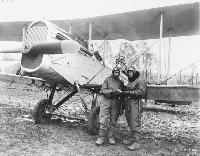 De-Haviland DH4 aeroplane