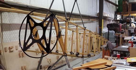 Building A Sopwith Strutter - fuselage