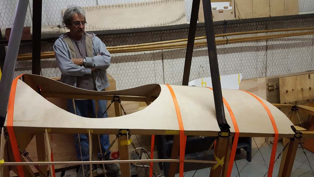 Building a Sopwith Strutter - outer decking
