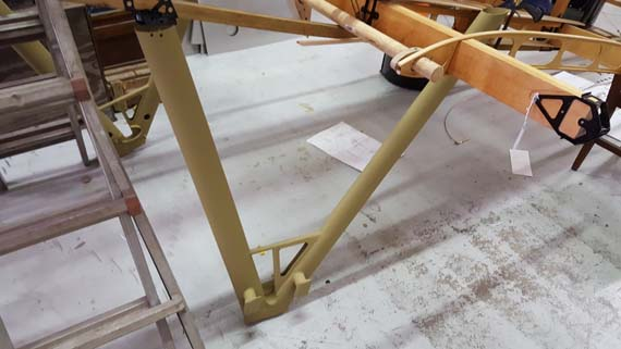 Building a Sopwith Strutter - undercarriage
