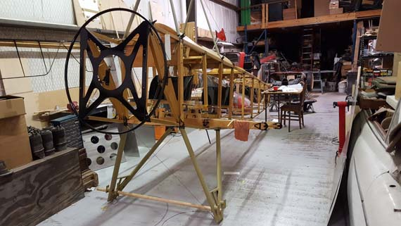 Sopwith 1 1/2 Strutter fuselage with engine plate