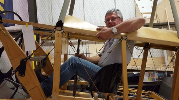 Building a Sopwith Strutter - cockpit in Sopwith 1 1/2 Strutter