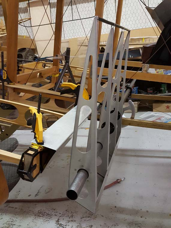 Builidng A Sopwith Strutter - Aileron