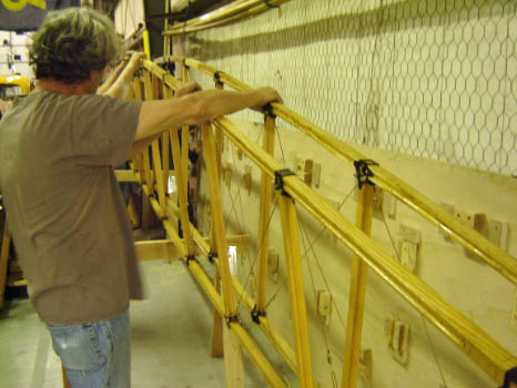 Sopwith Strutter Fuselage Process