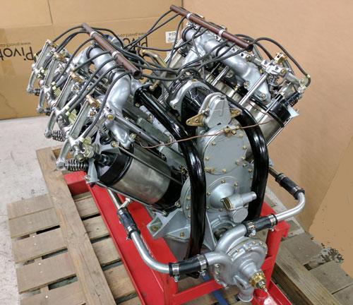 Curtiss OXX-6 Restored Engine