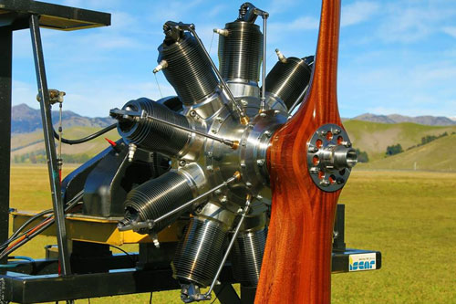 Gnome 100 hp Rotary Engine by CAMS
