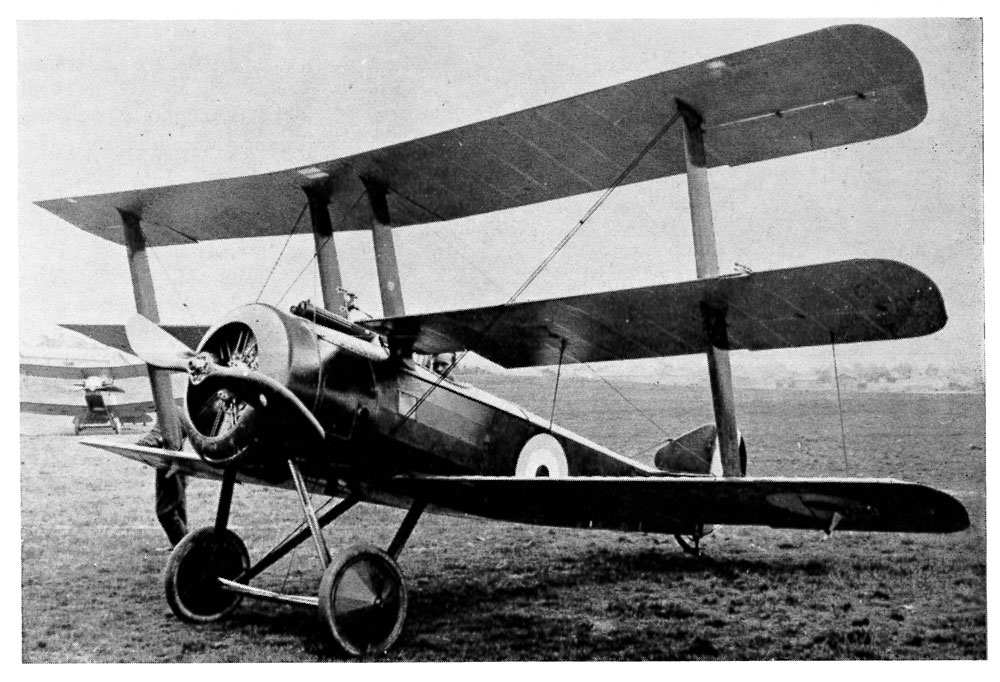 Sopwith Triplane - the first triplane of WW1