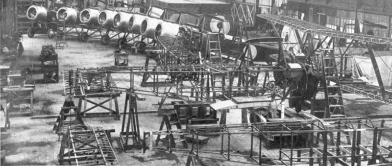 The Westland Aircraft Works production of Sopwith Struttersy