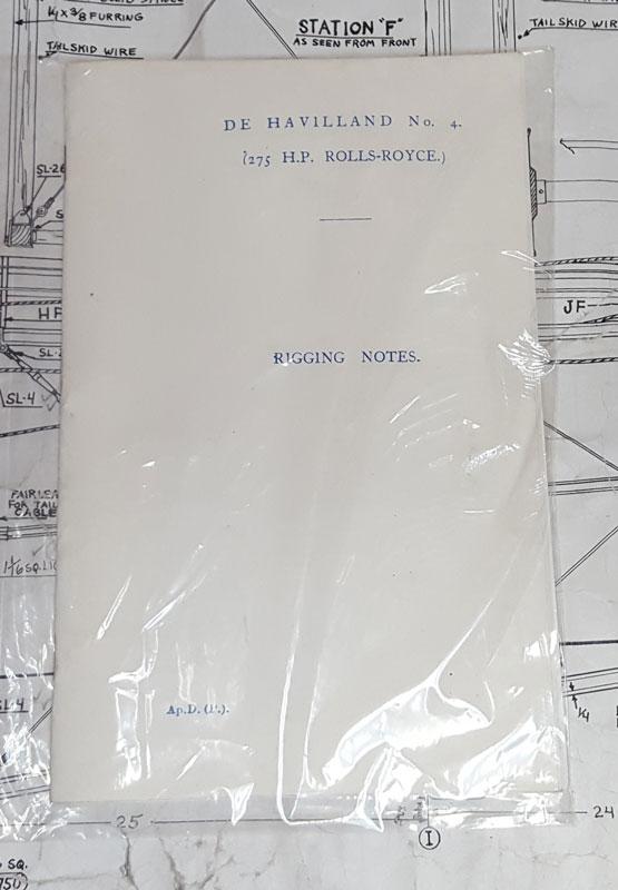 Riggin Notes for the DeHavilland 4