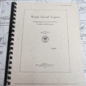 Shop Manual for Wright aircraft engines