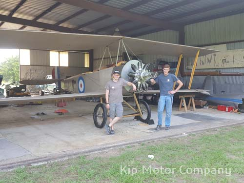 Sopwith Strutter wings installed