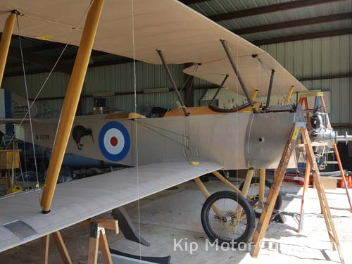 Sopwith Strutter flying wire measurement