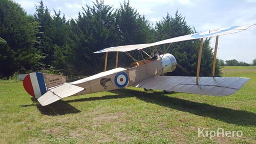 Side view of Sopwith 1 1/2 Strutter