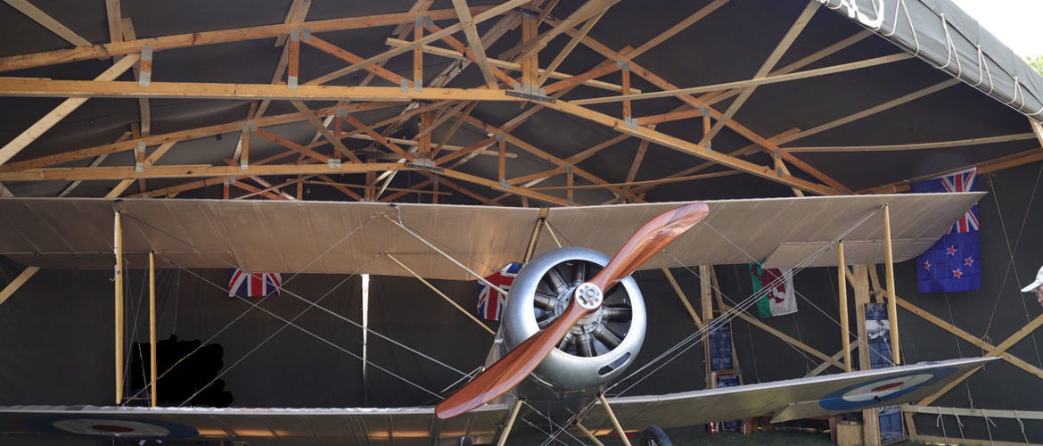 Authentic Reproduction Sopwith 1 1/2 Strutter at EAA AirVenture 2019