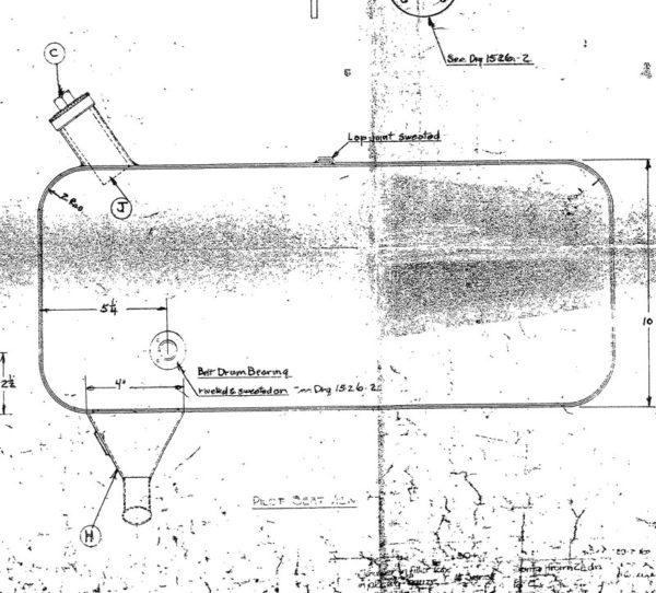 Sopwith Strutter Oil Tank Kit