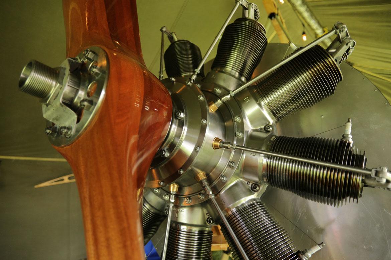 Gnome Monosoupape Rotary Engine, new production