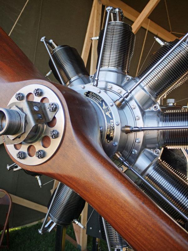 Gnome Monosoupape Rotary Engine