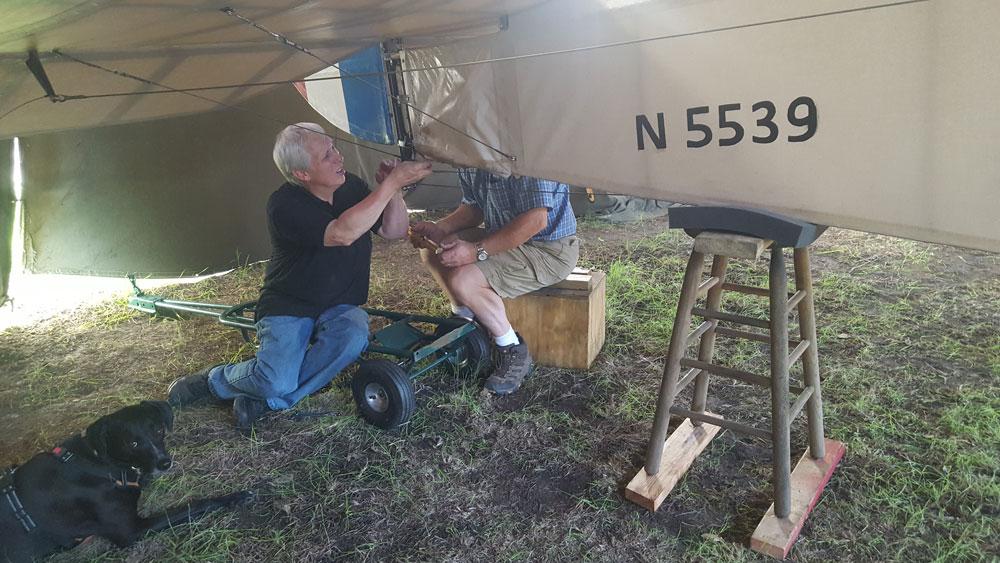 Minor Sopwith Maintenance Repairs